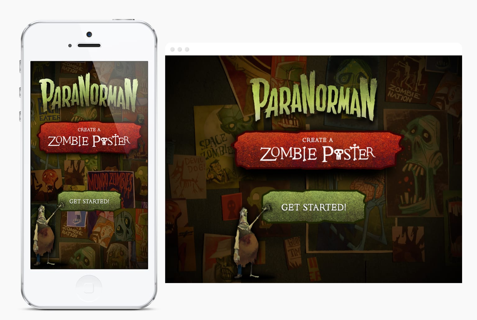 ParaNormal: Zombie Poster Maker