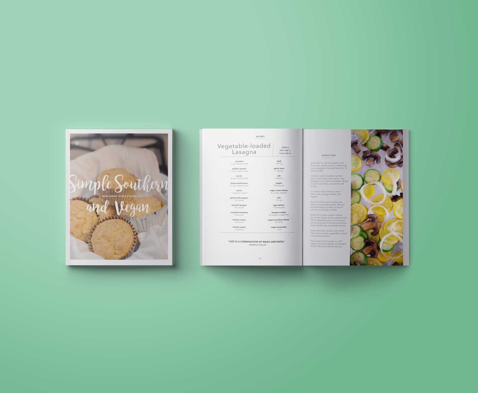 Simple Southern and Vegan Cookbook