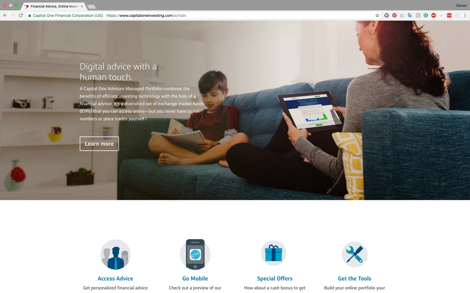 Capital One Investing photo library