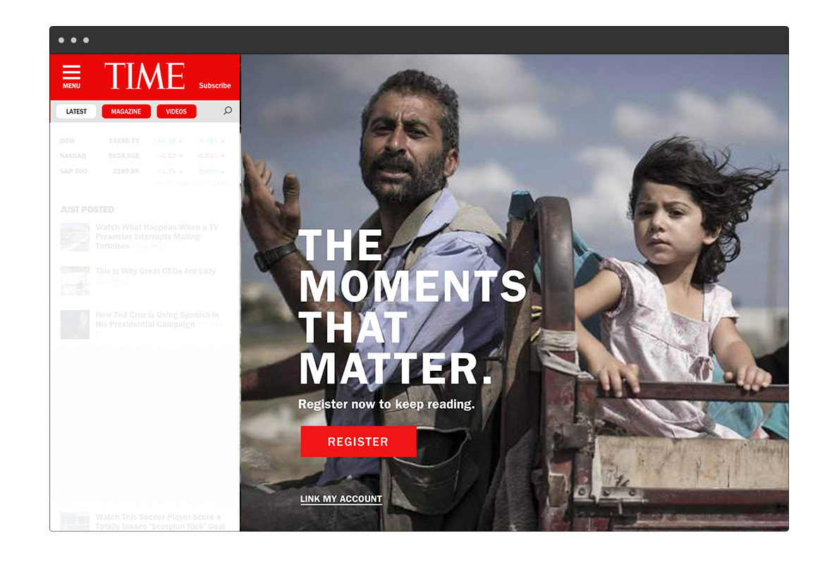 Time, Inc. Paywall System