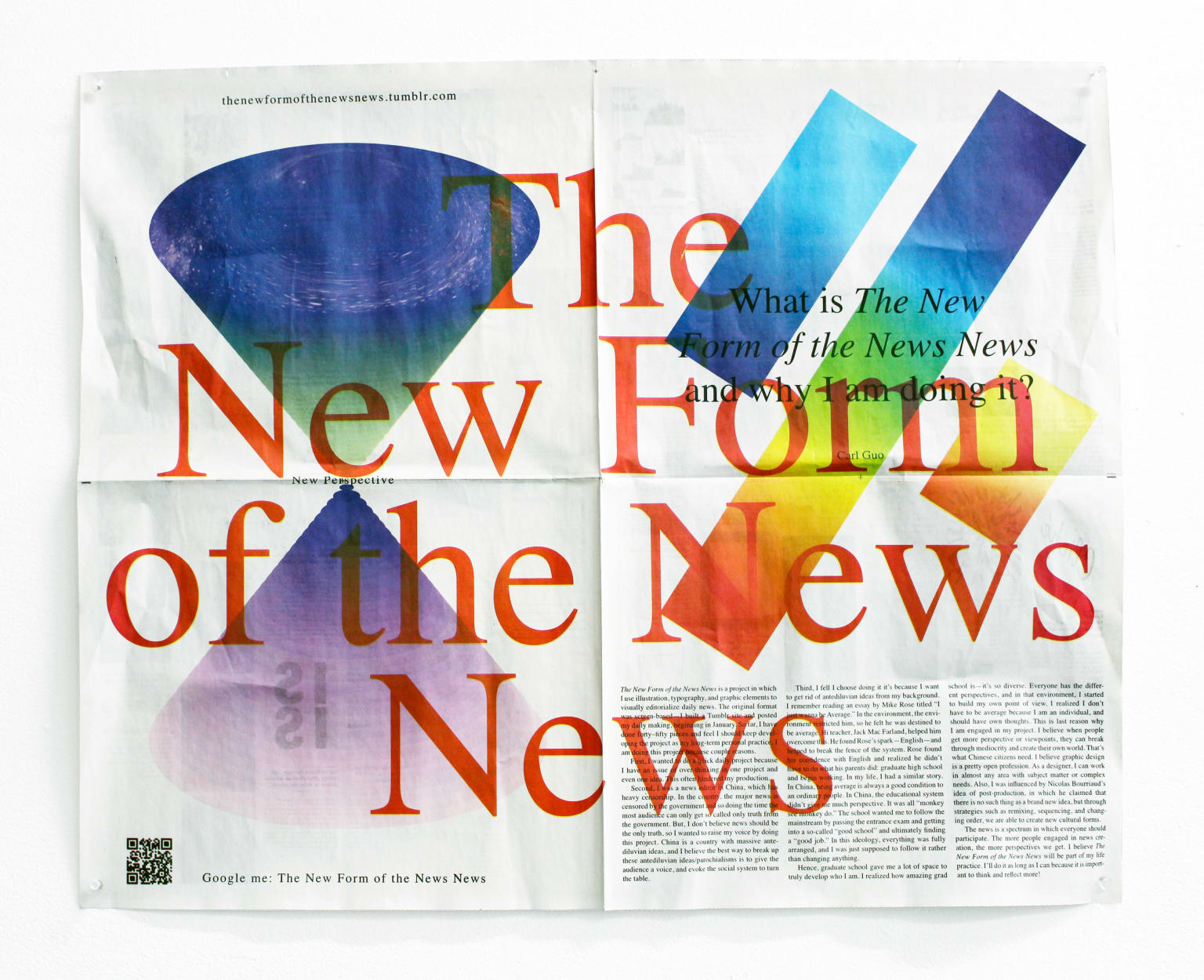The New Form of the News News