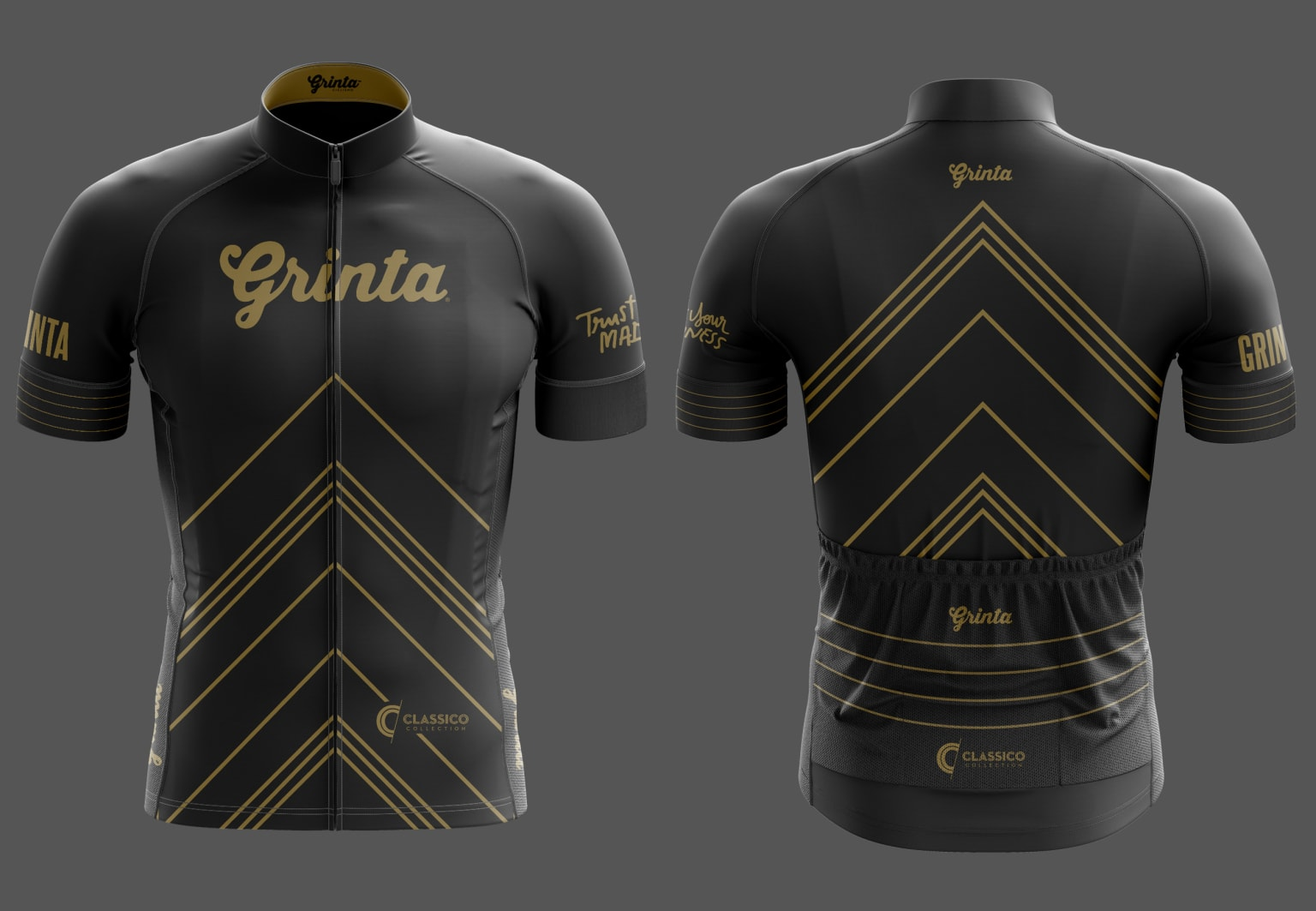 Grinta Cycling Jersey Designs