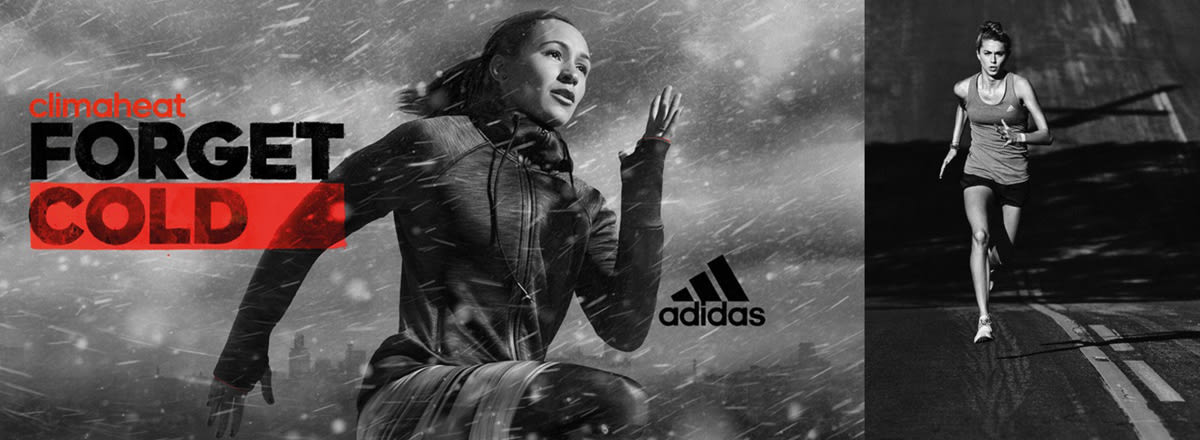 """Adidas """"Climachill"""" and """"Climaheat"""" Campaigns"""