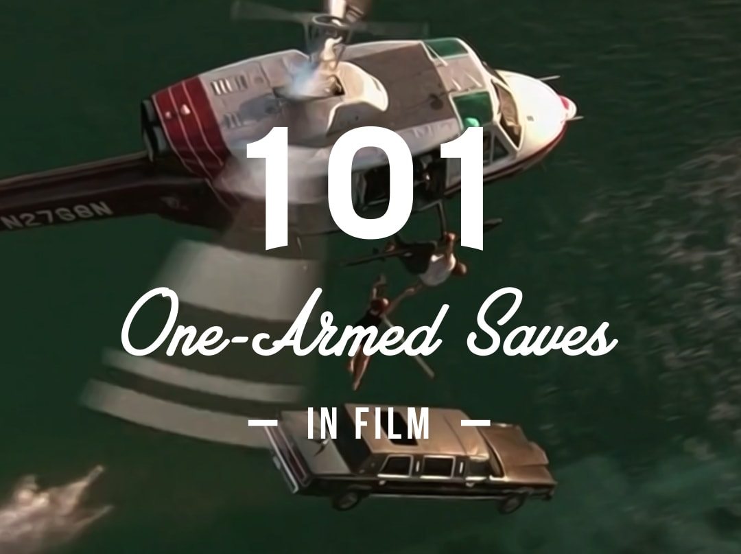 101 One-Armed Saves in Film