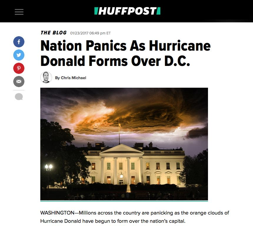 Featured HuffPost Satire