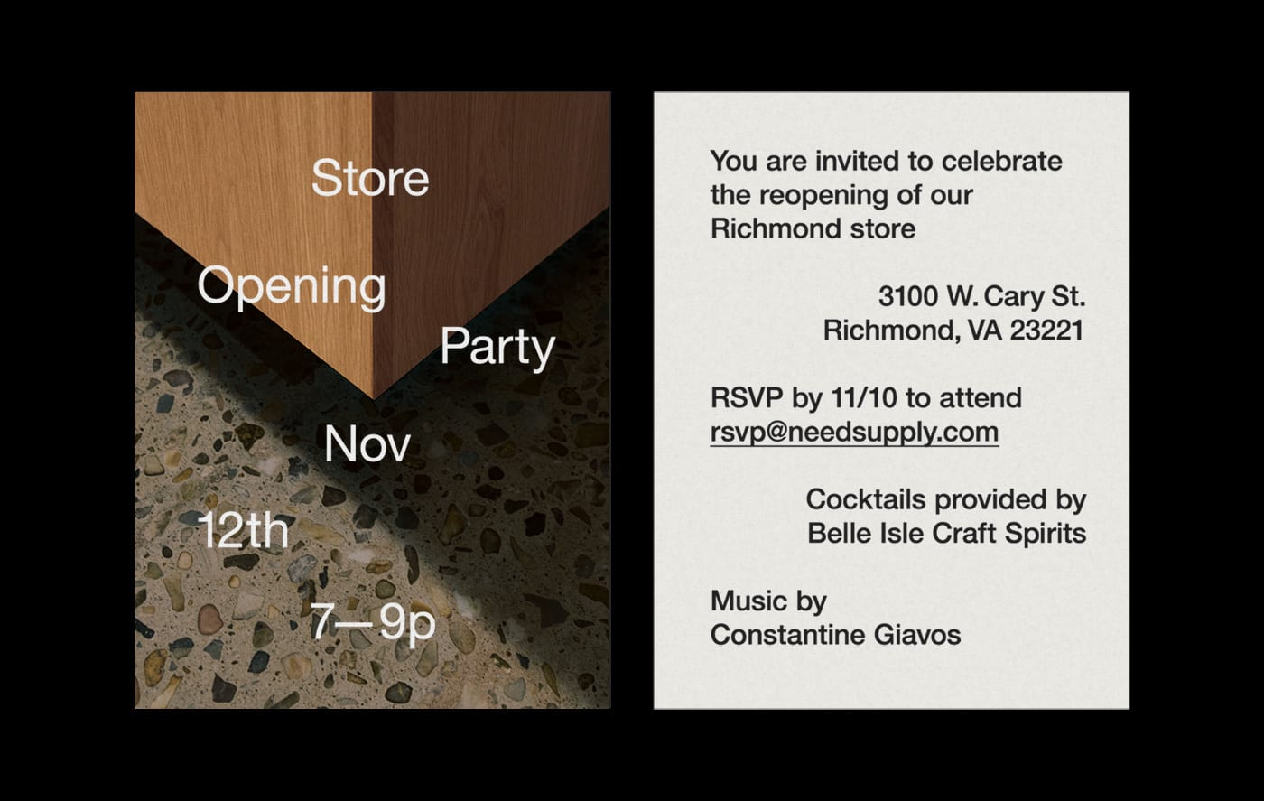 NSC Store Opening