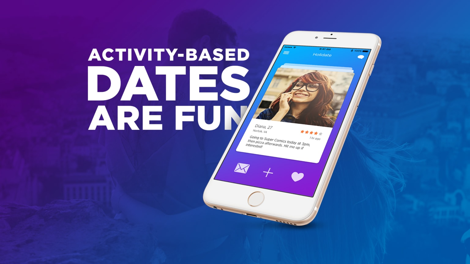 Holidate dating app (personal project)