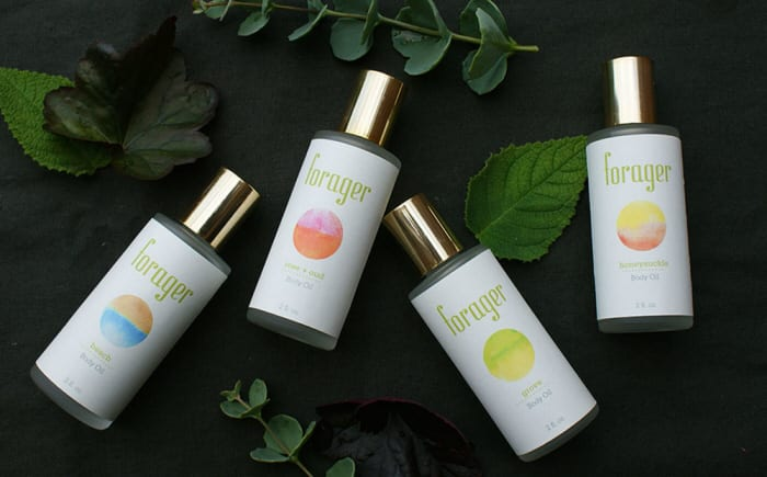 Forager Botanicals Natural Beauty Branding and Packaging Design