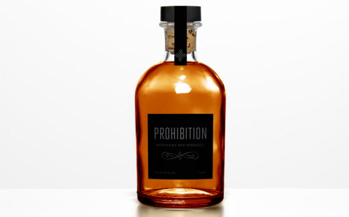 Prohibition Whiskey Branding and Packaging Design