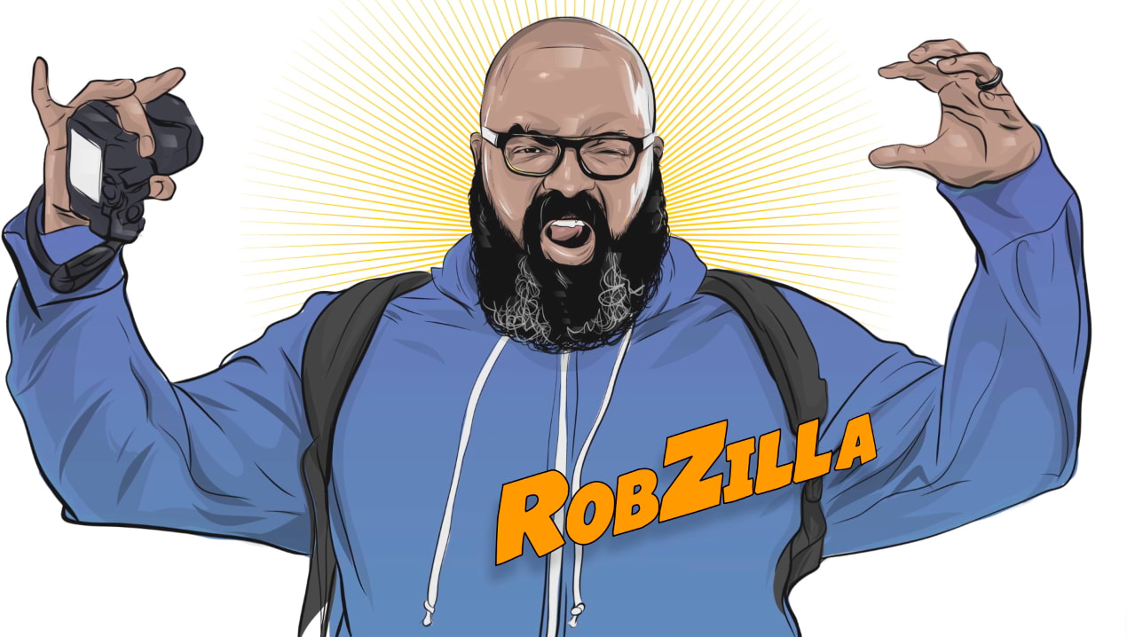Rob Zilla, Adobe and the the Warriors