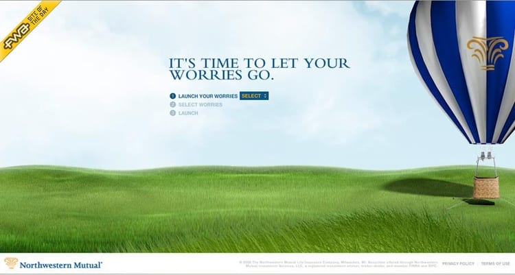 """Northwestern Mutual """"Let Your Worries Go"""""""