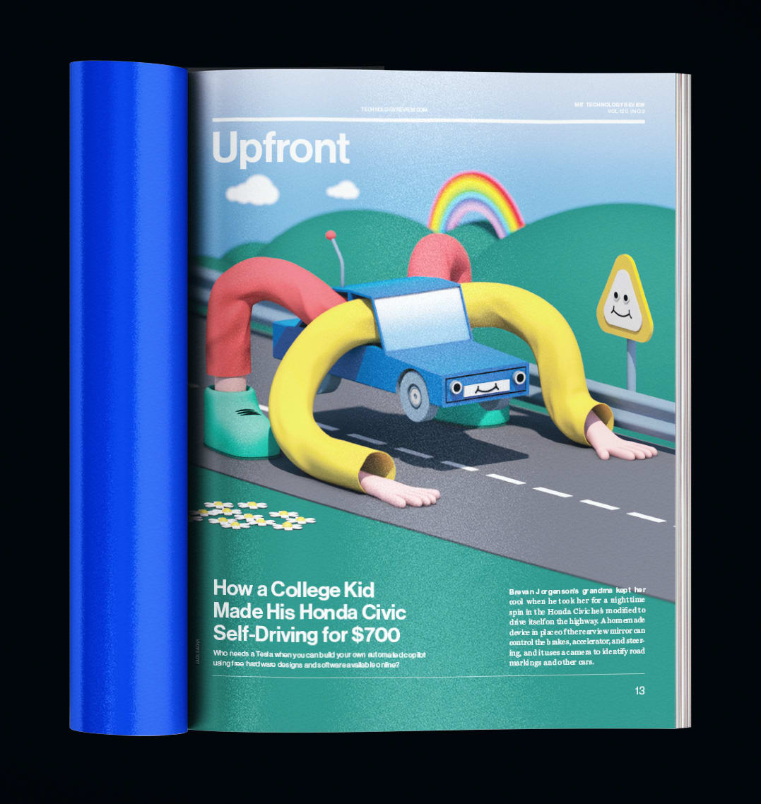MIT Technology Review, Print Layout