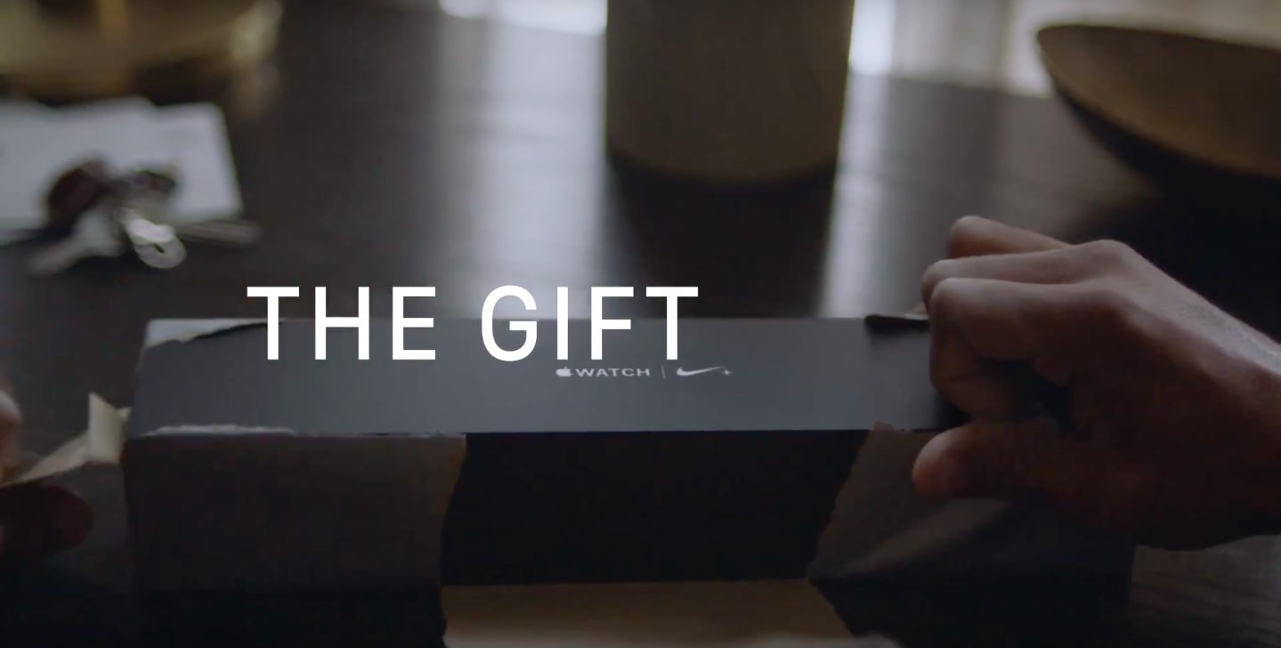 """Apple Watch """"The Gift of Go"""""""
