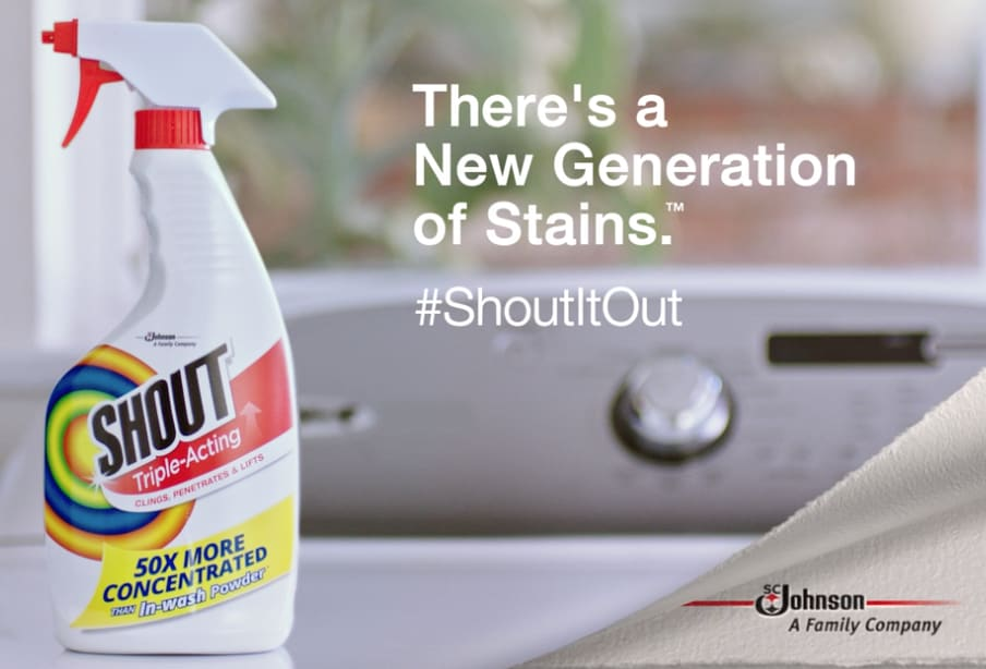 """Shout """"New Generation of Stains"""""""