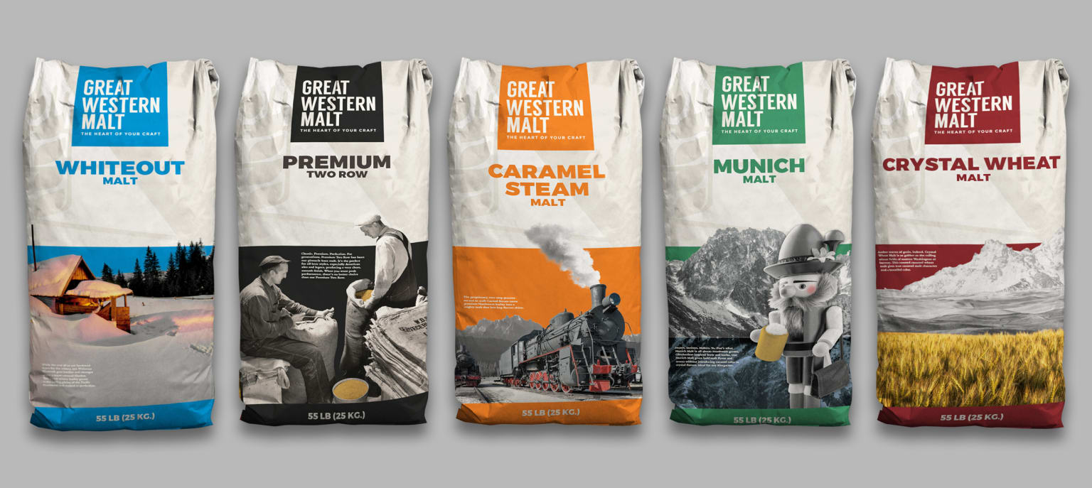 Great Western Malt: Collateral and Packaging