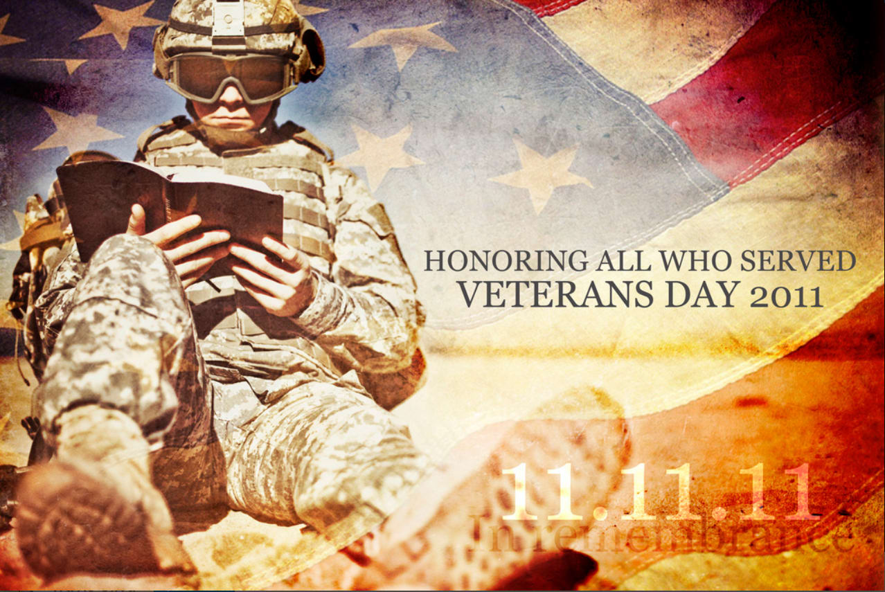 Graphic To celebrate Veterans Day