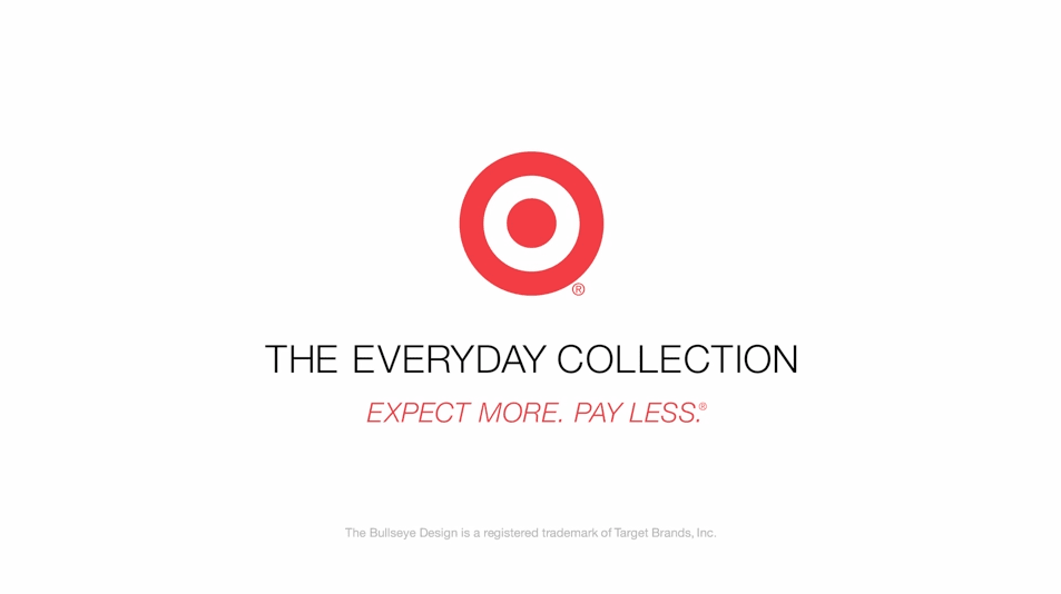 Target, The Everyday Collection campaign