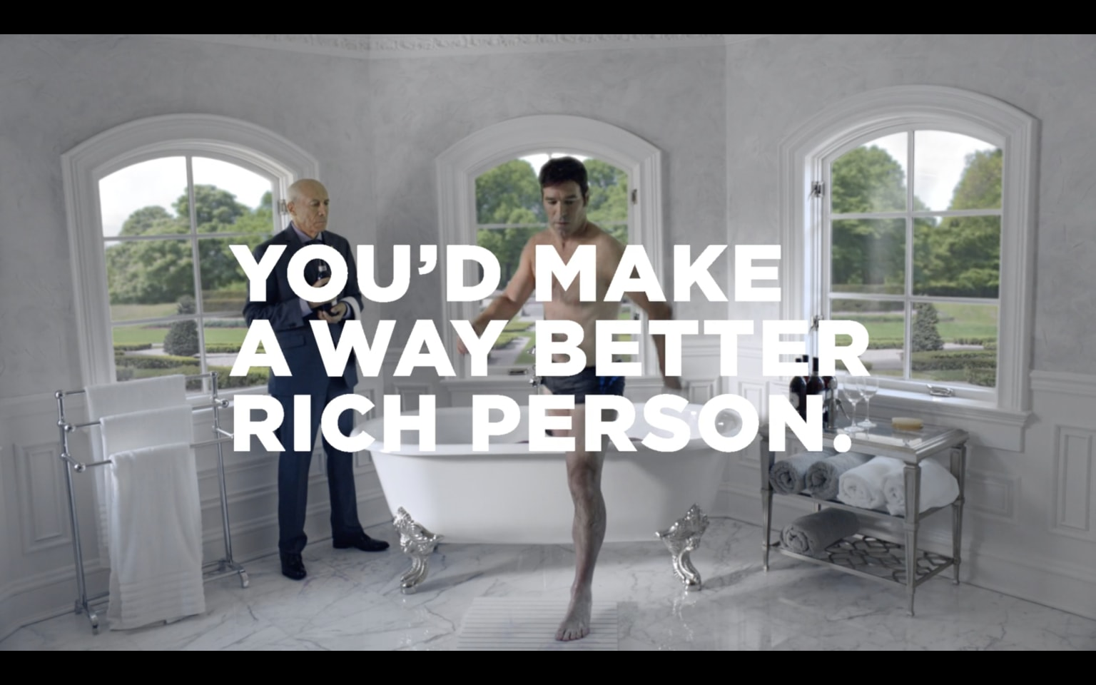 New York Lotto - You'd Make A Way Better Rich Person