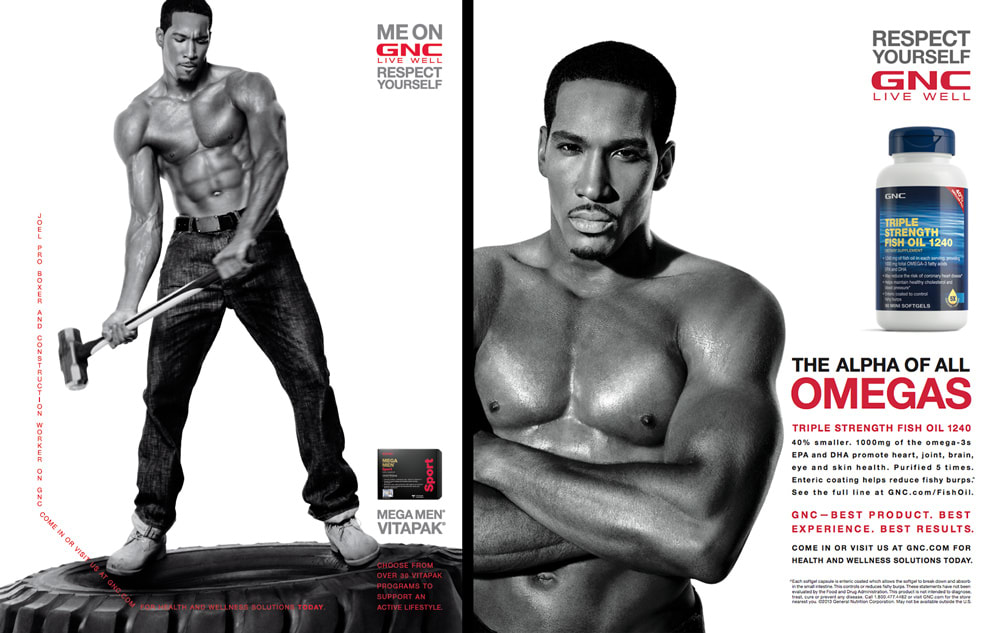Me On GNC & Respect Yourself Campaigns