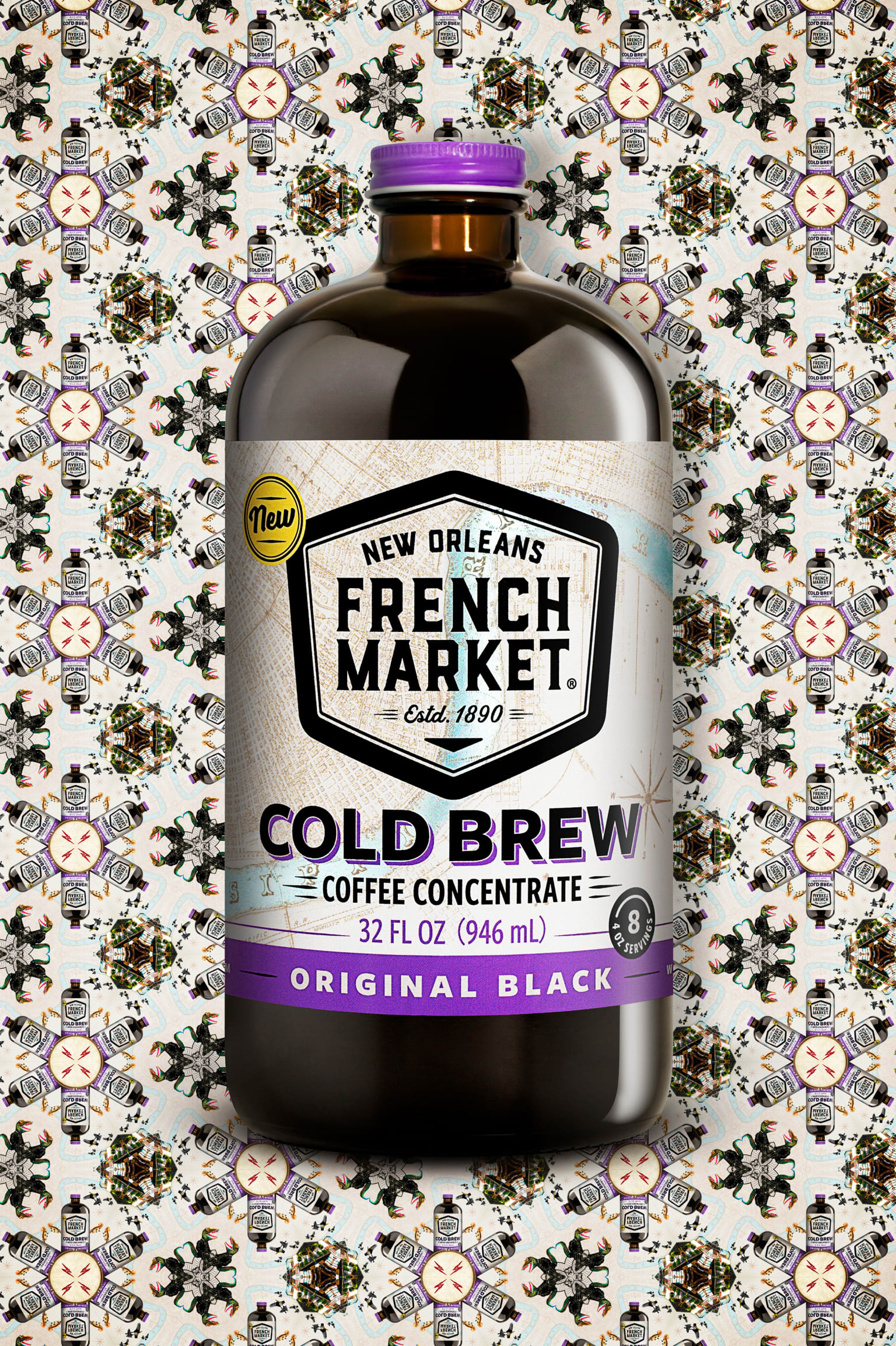 FRENCH MARKET COLD BREW COFFEE / Package Design