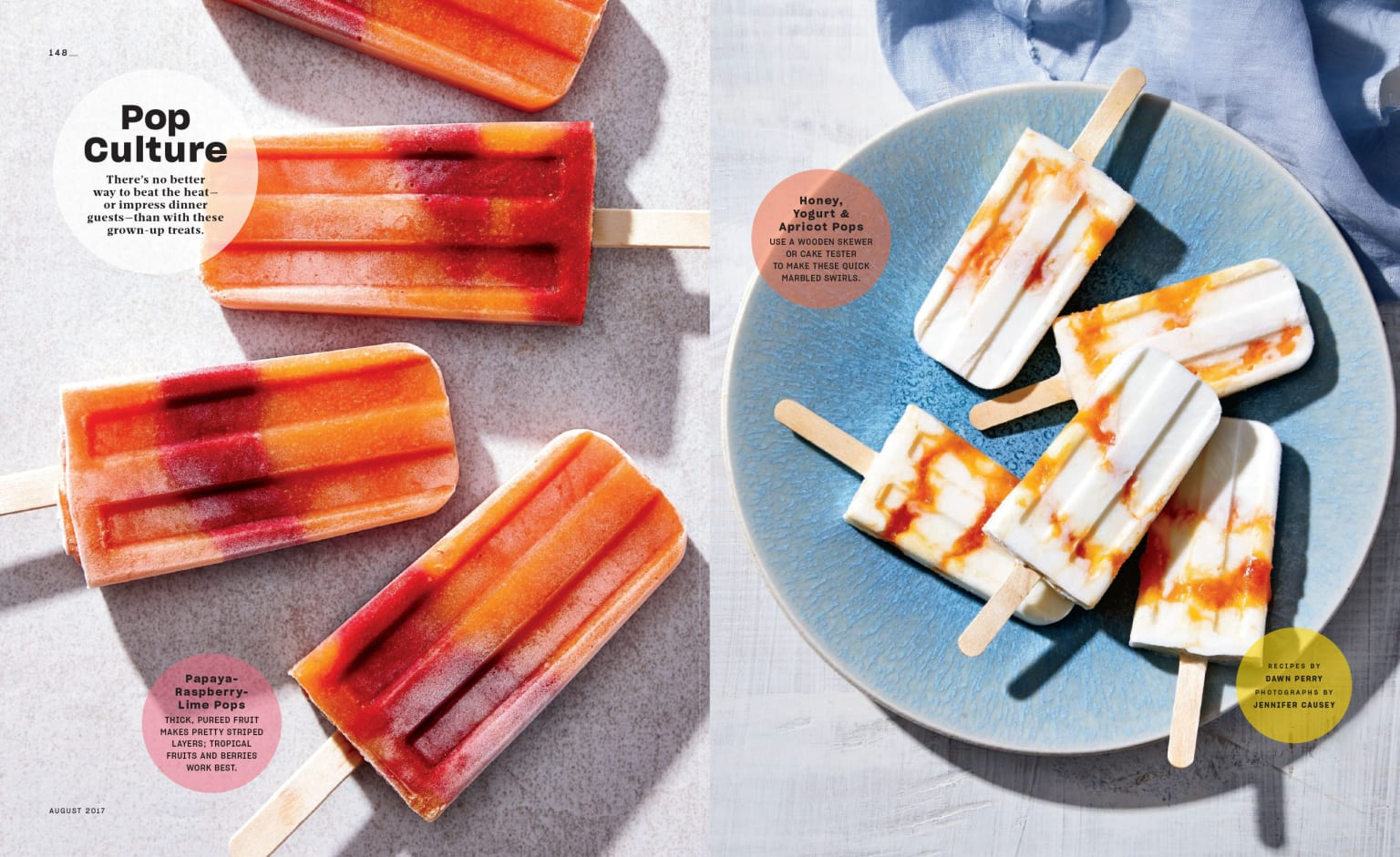 Real Simple Magazine Food Feature