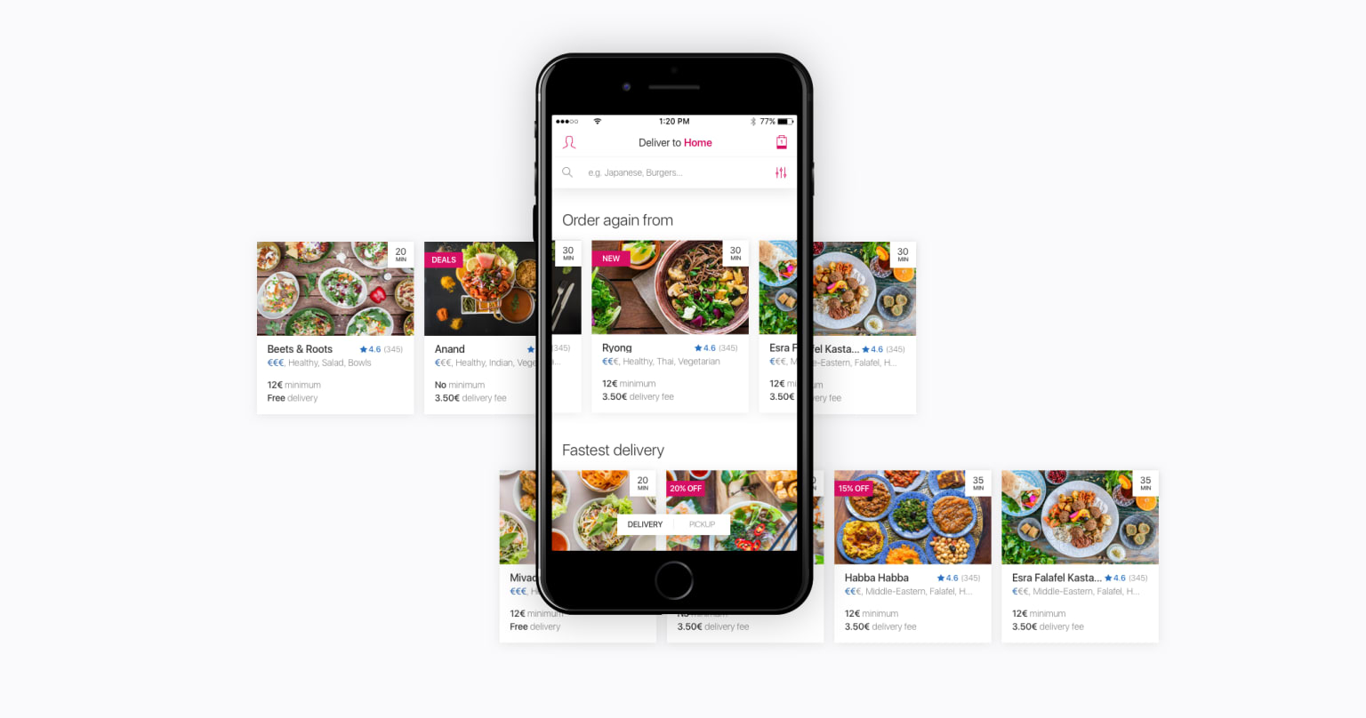 Foodora Curated Lists