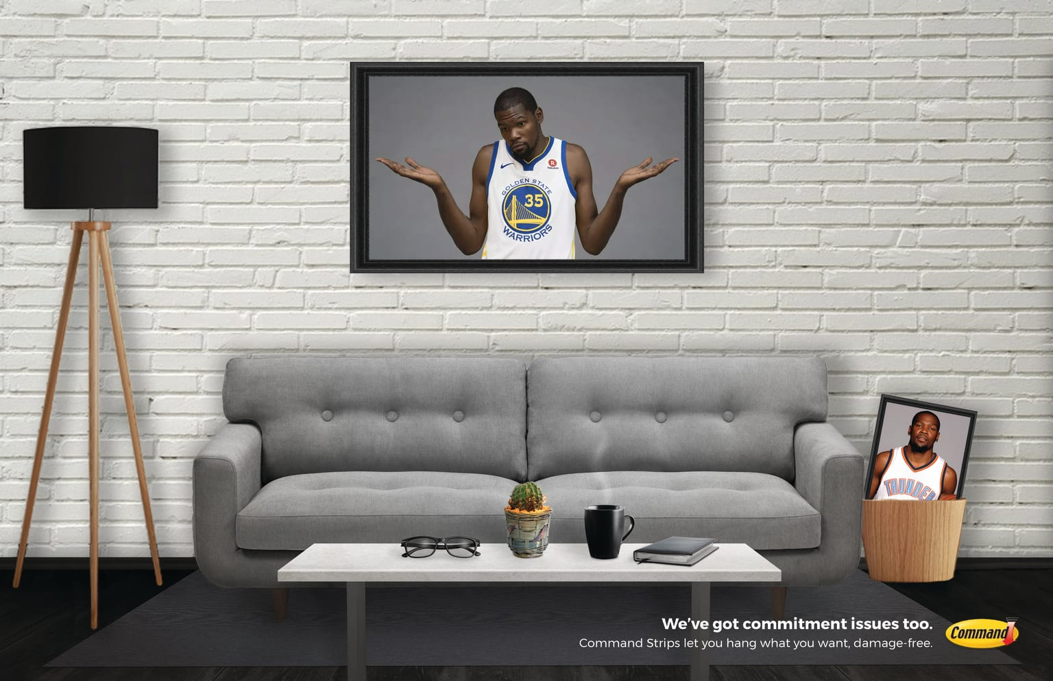 Command Strips Print Ads