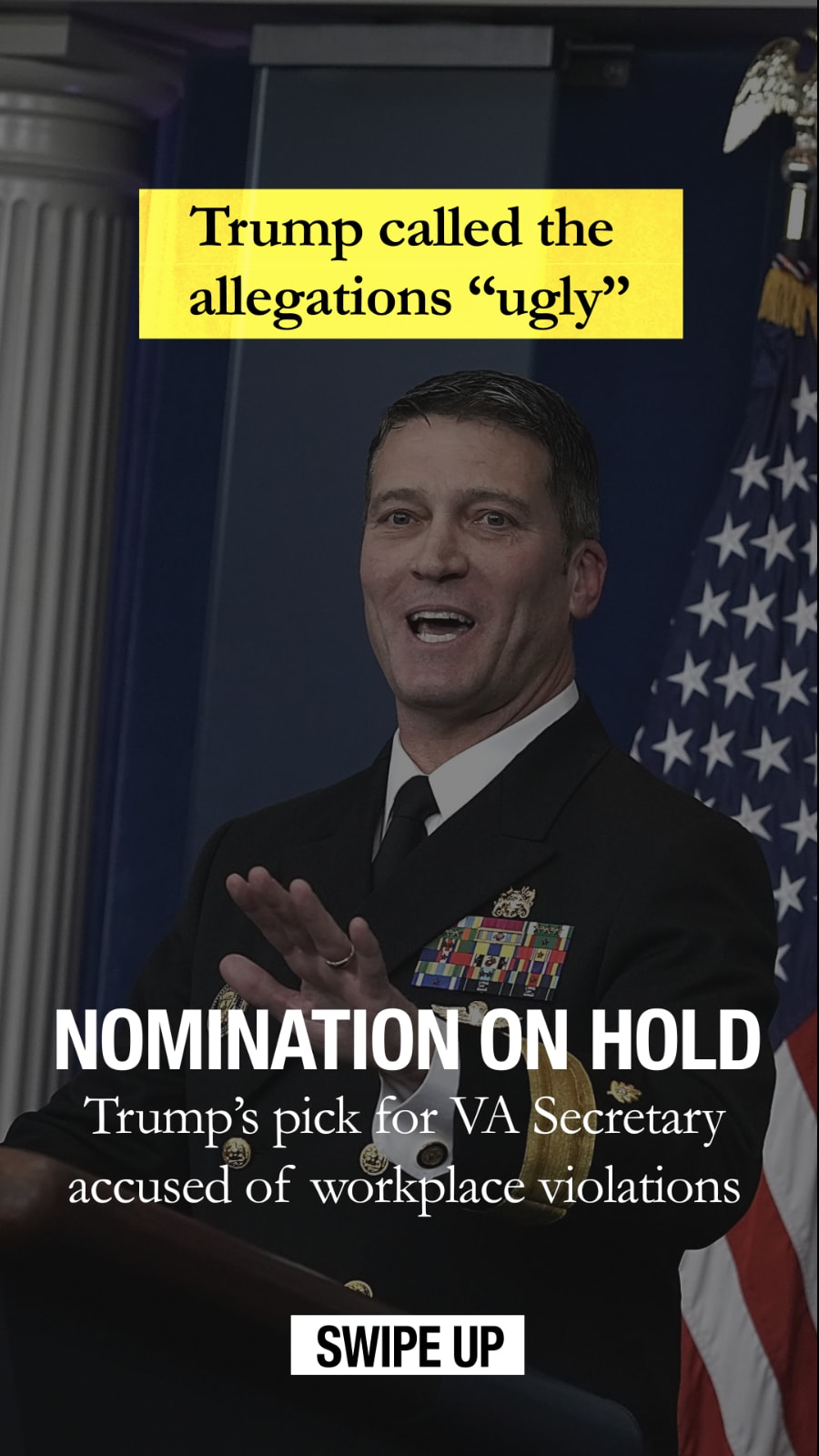 Ronny Jackson Snapchat Discover Example
