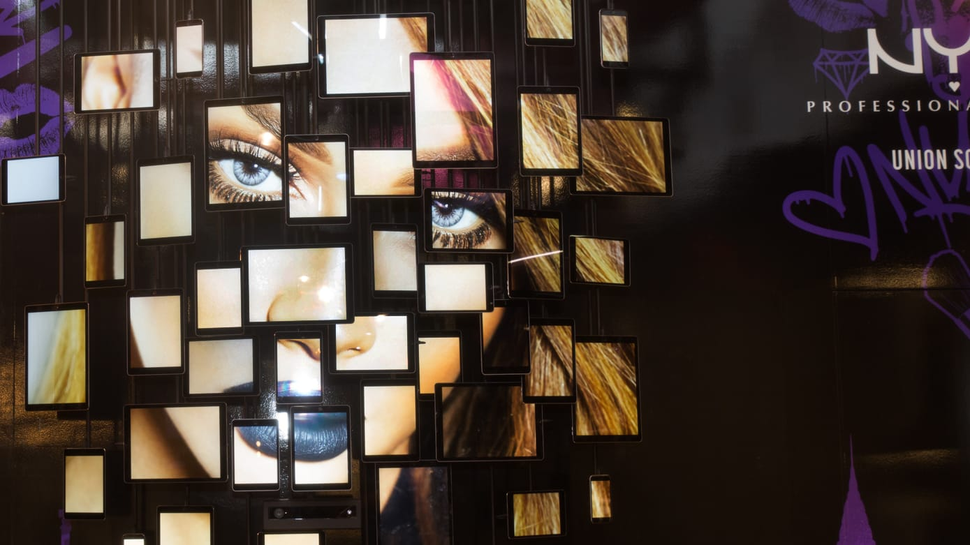 NYX Cosmetics In-store Interactives
