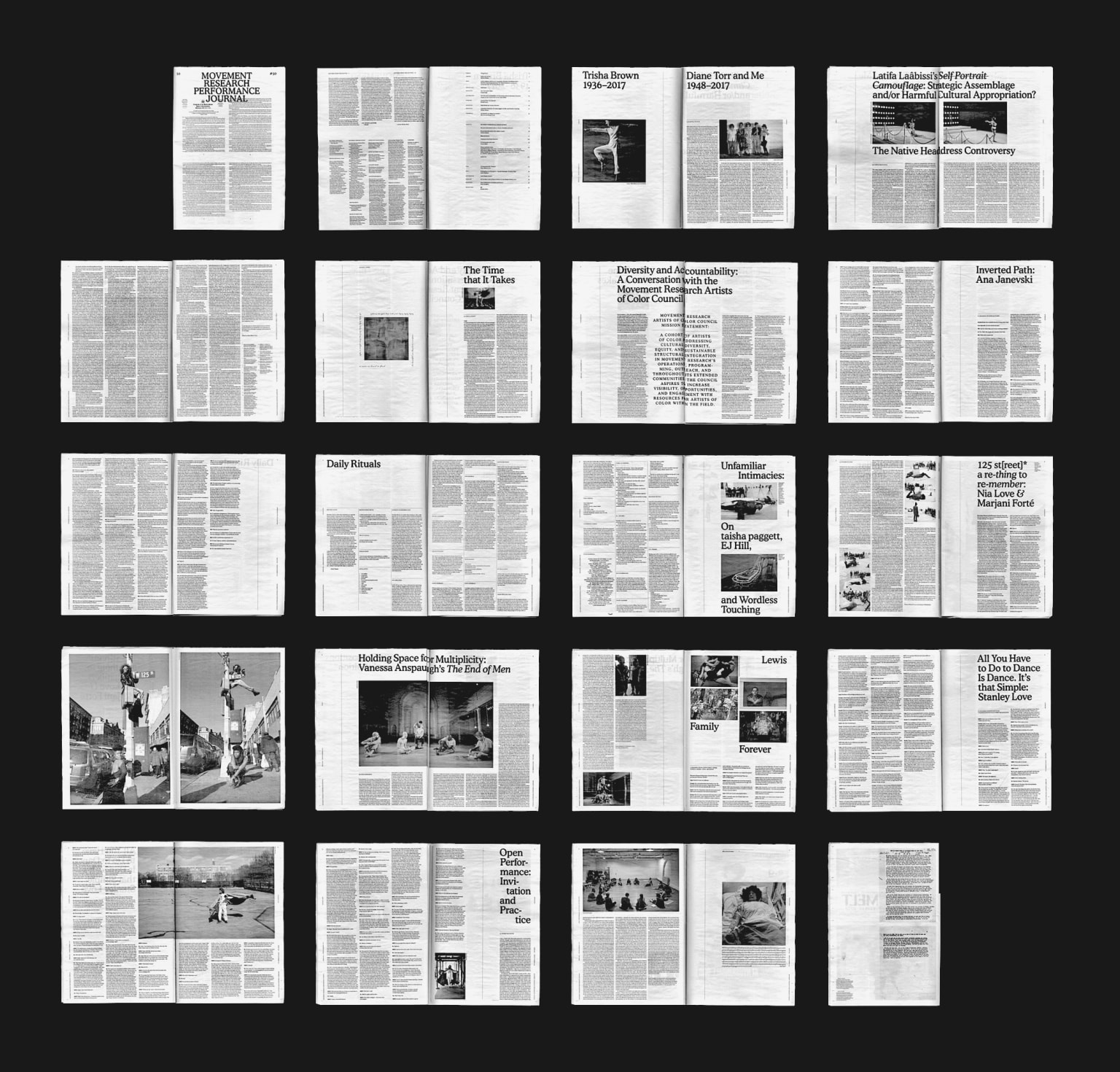 Movement Research Performance Journal #50