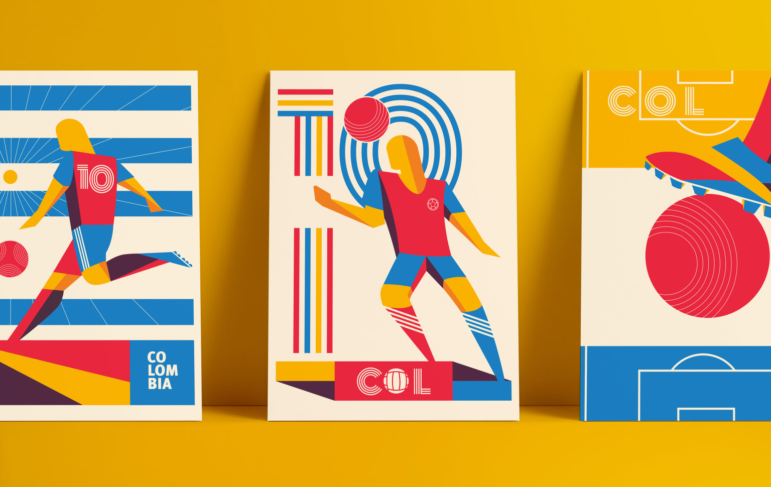 32/64/90 The creative world cup