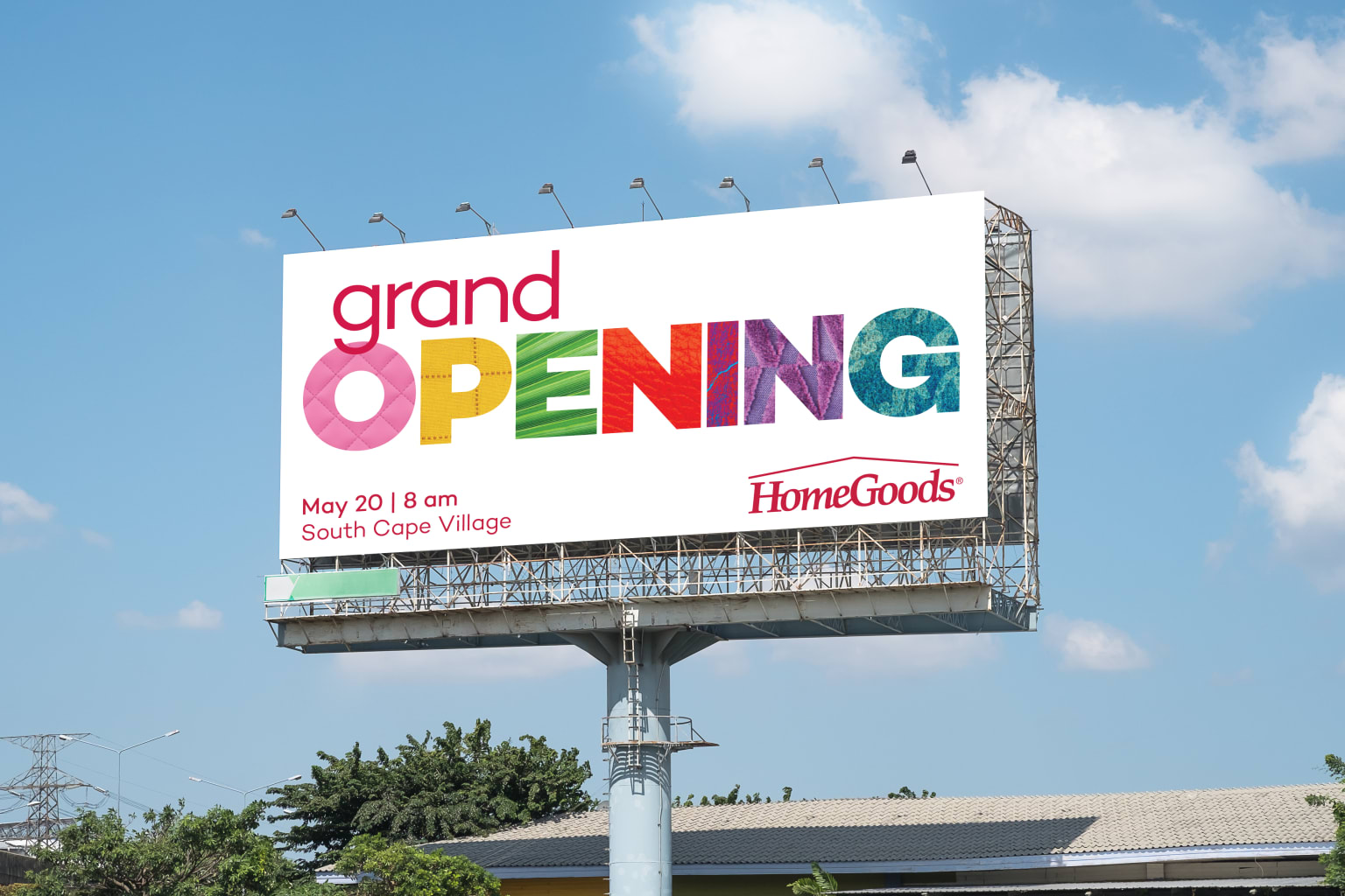 Homegoods Grand Opening - Outdoor Signage