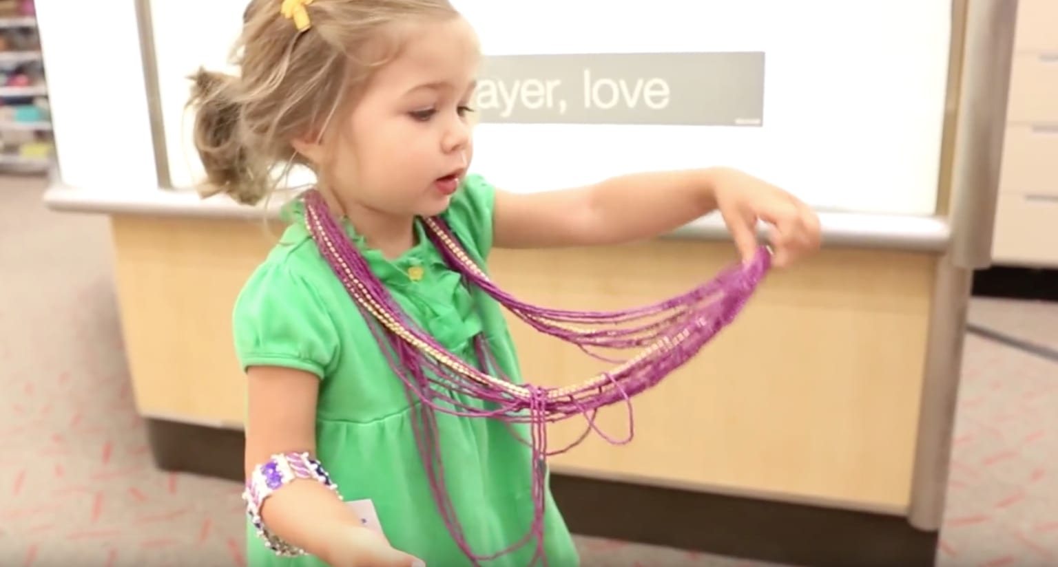 So easy a 2-year old can do it