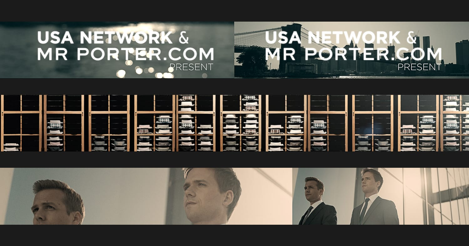 Suits & Style: USA Networks Suits X Mr. Porter Event