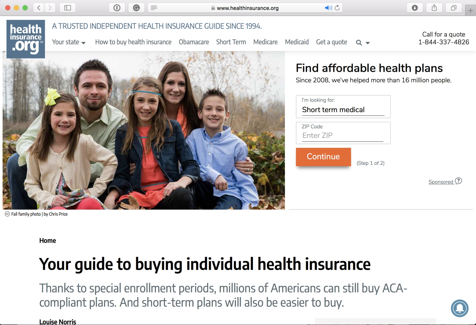 IA for Healthcare Information Website