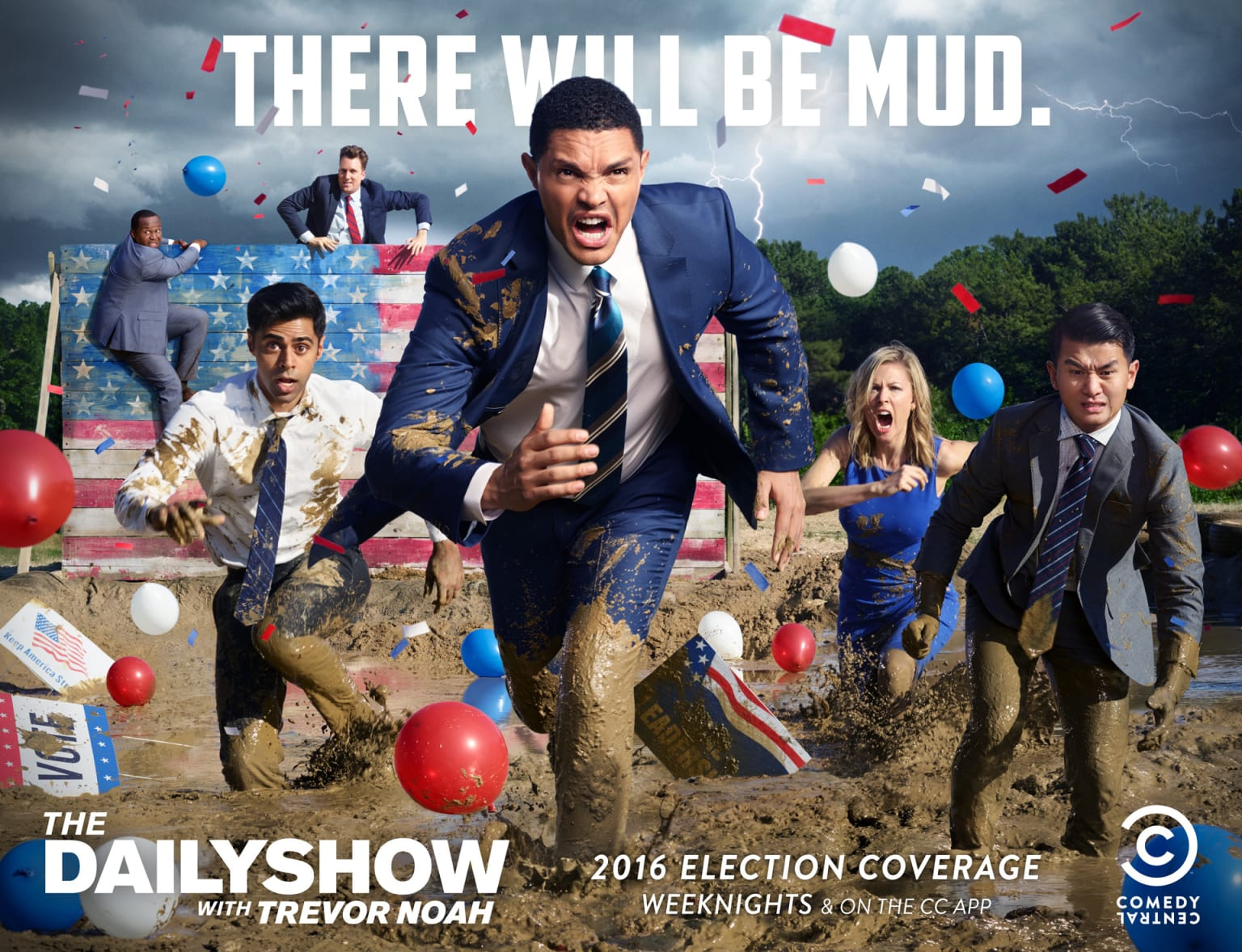 """The Daily Show """"2016 Election Coverage"""""""