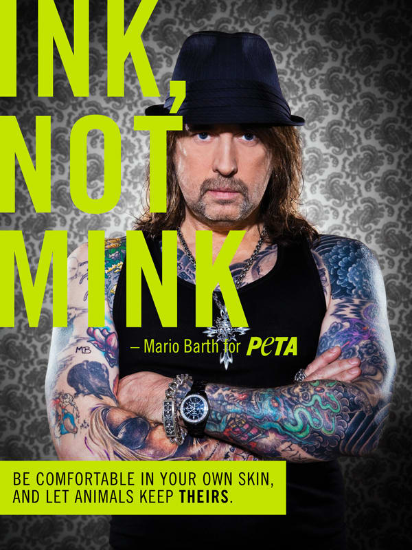 """""""Ink Not Mink"""" Campaign"""