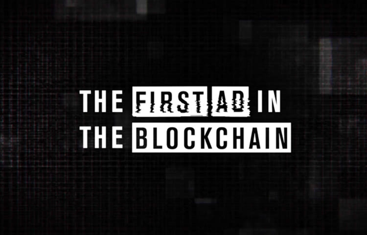 """TD AMERITRADE - """"The First Ad In The Blockchain"""""""