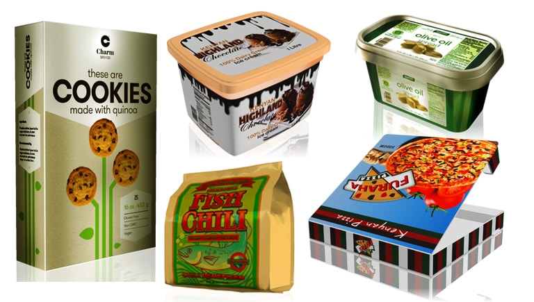 Packaging and Product visualization