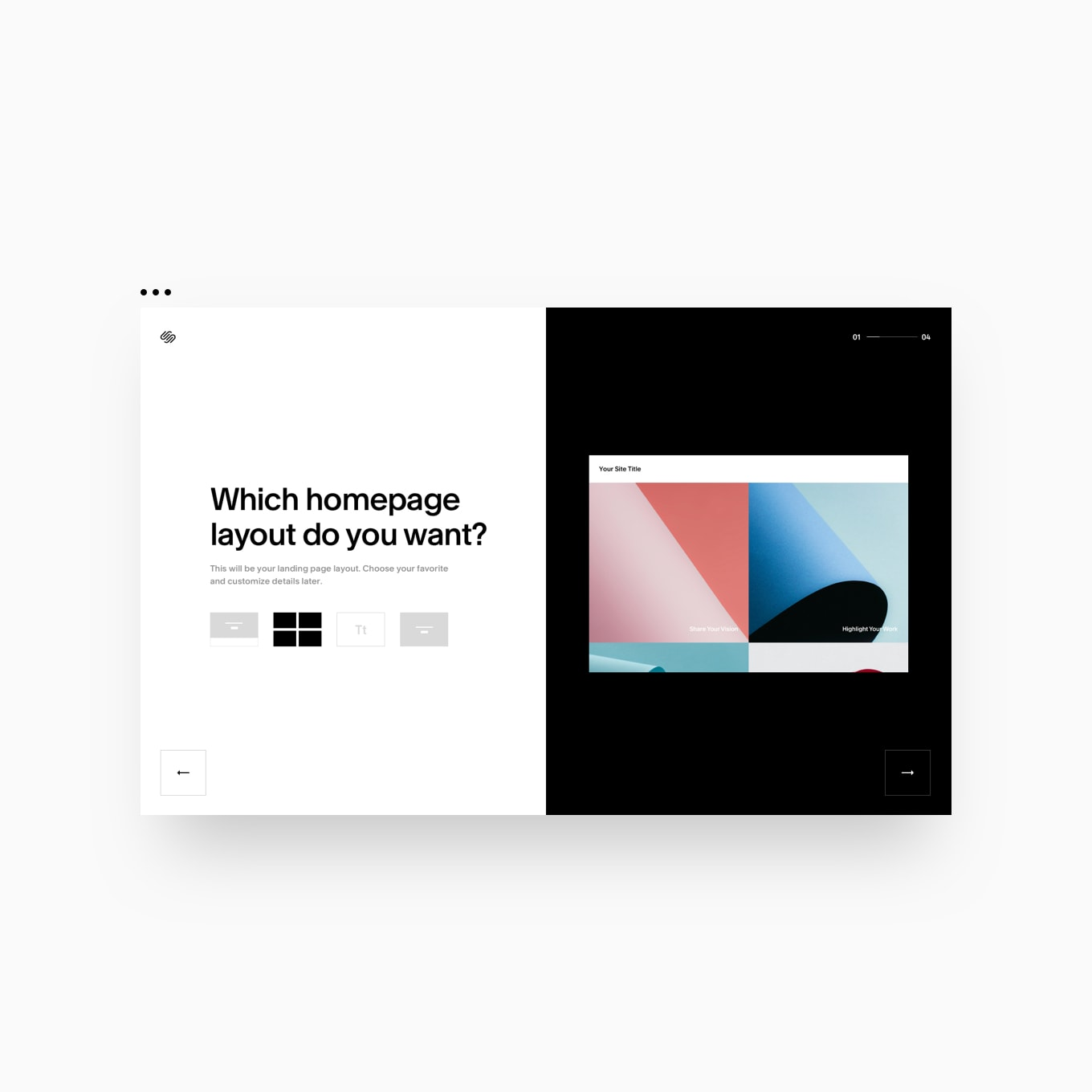Squarespace Onboarding