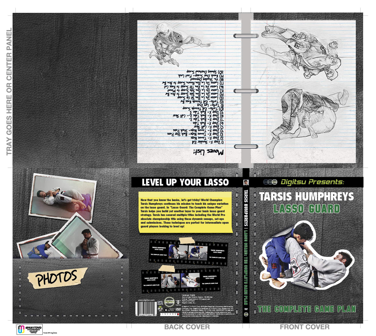 Tarsis Humphrey's-Lasso Guard: The Complete Game Plan DVD