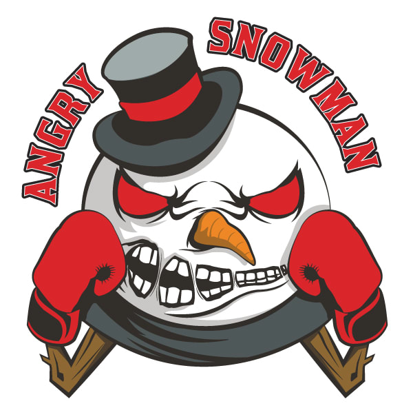 """James """"The Angry Snowman"""" Gabert Logo and Camp Flyer"""