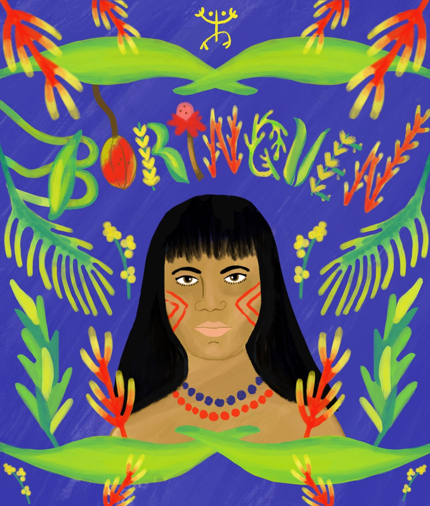 Latinx Illustrations and Lettering
