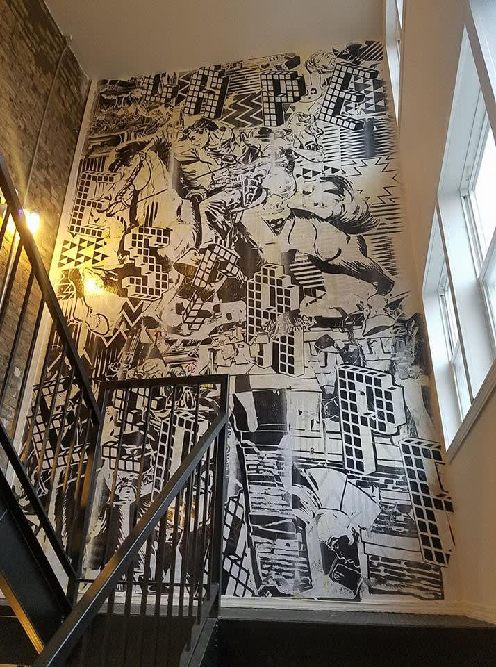 Exit Strategy mural in Chicago