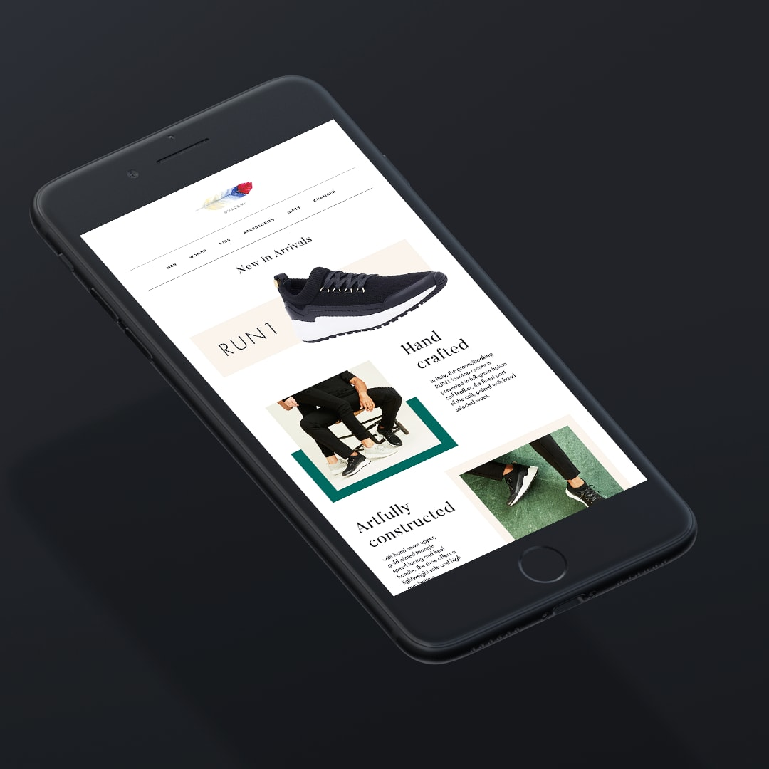 Buscemi Footwear Email Templates