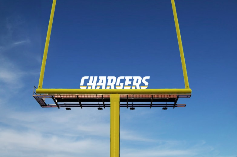 Chargers OOH