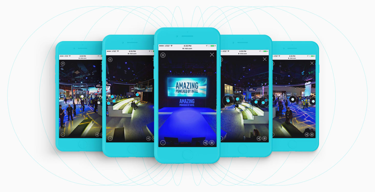 CES 360° Web Experience