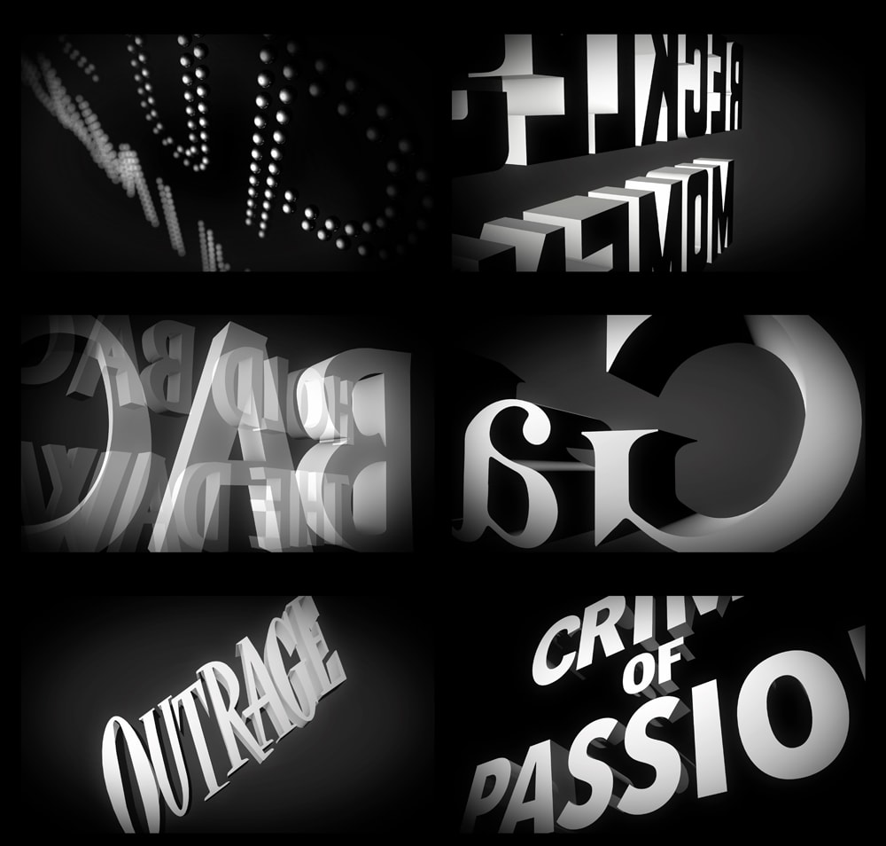 Titled : An Homage to Title Design