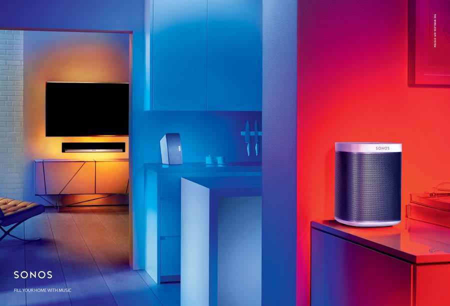 """Sonos """"Fill Your Home With Music"""""""