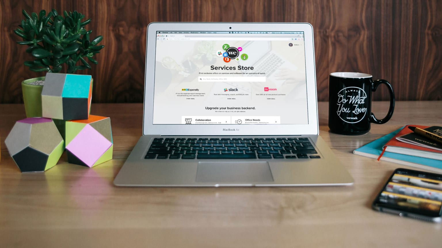 Launched WeWork Services Store